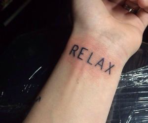 tattoo, relax, and cody image