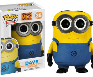 dave, minion, and despicable me image