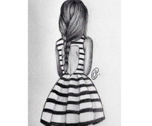 art, black and white, and design image