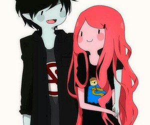 cannon, princess bubblegum, and marshall lee image