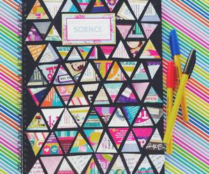 school, notebook, and diy image