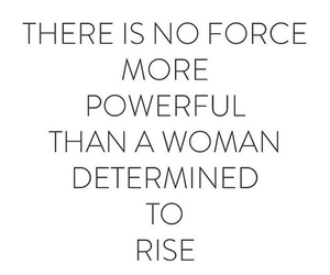girlpower, rise, and woman image