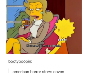 funny, the simpsons, and tumblr image