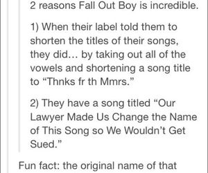 fall out boy and funny image
