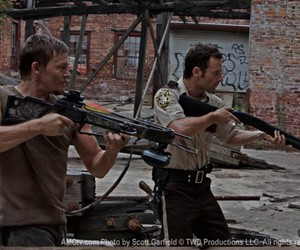 norman reedus, the walking dead, and rick grimes image