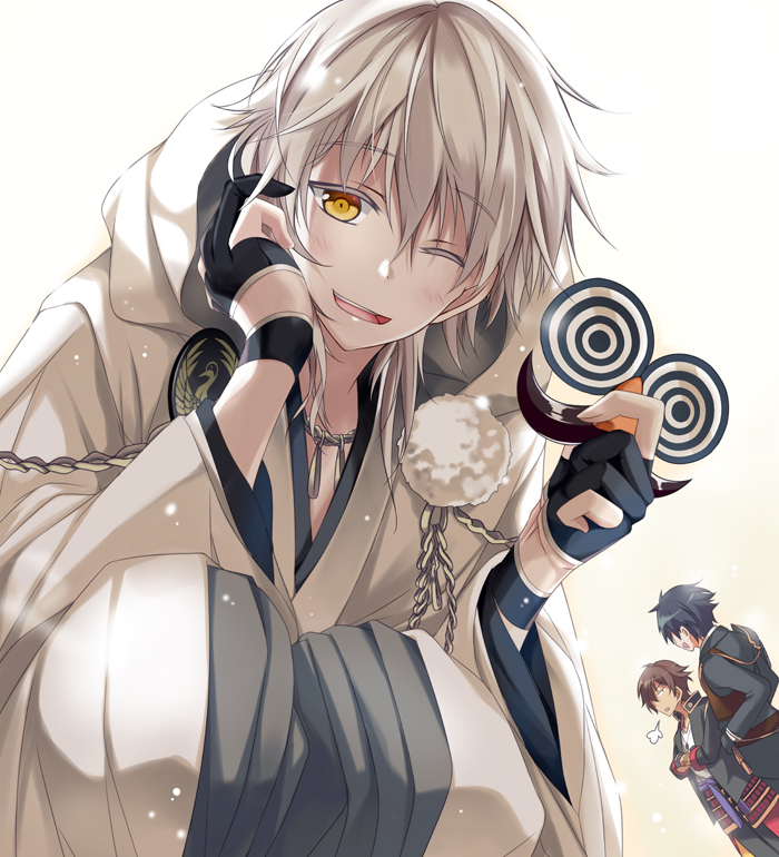 27 Images About Grey Hair Anime On We Heart It See More