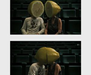 love, lemon, and kiss image