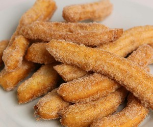 churros, delicious, and food image