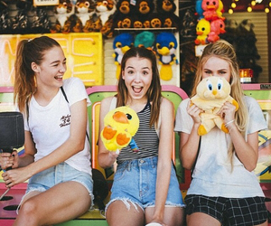 fun, girls, and carnival image