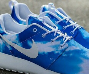 blue, fashion, and nike roshe image