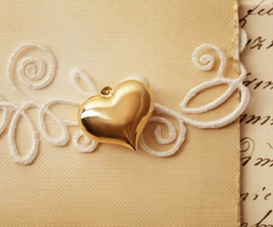 gold and love image