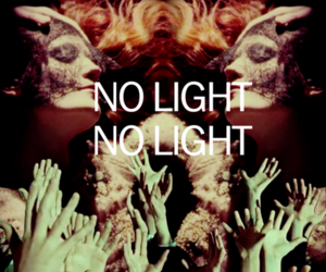 florence + the machine, florence welch, and no light no light image