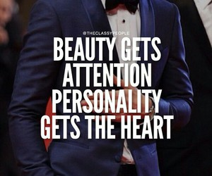 beauty, heart, and personality image
