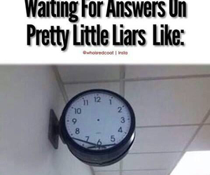 pretty little liars, pll, and answers image