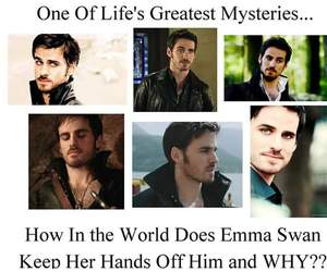 captain hook, once upon a time, and Hot image