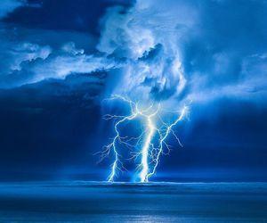 amazing, lightning, and weather image