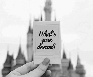 Dream, disney, and black and white image