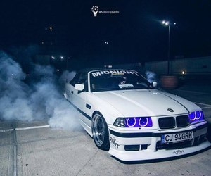 bmw, car, and drift image