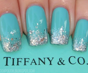 blue and sparkles image