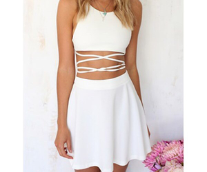 dress, pretty, and sweet image