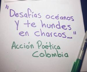 colombia, frases, and oceanos image