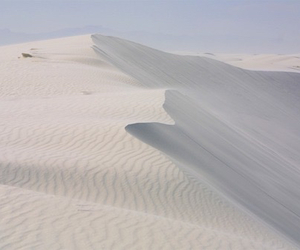 sand, white, and dune image