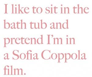 Sofia Coppola, bath, and bath tub image