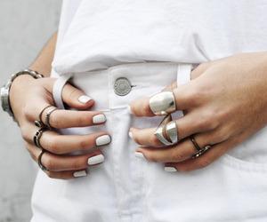 white, fashion, and girl image