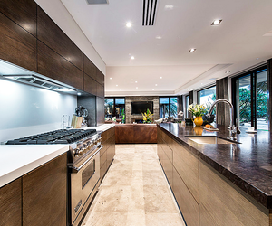 luxury, interior, and kitchen image