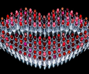 lipstick, lips, and makeup image