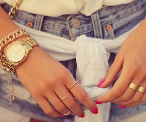 accessoires, girl, and hipster image