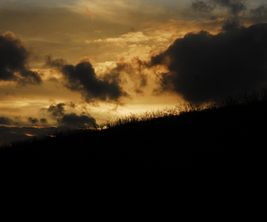 sundown, nature, and clouds image