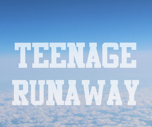 wallpaper, teenage, and clouds image