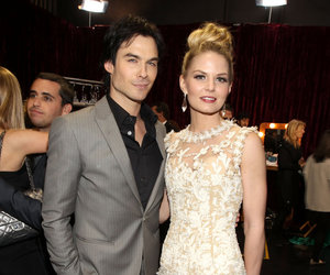 ian somerhalder and Jennifer Morrison image
