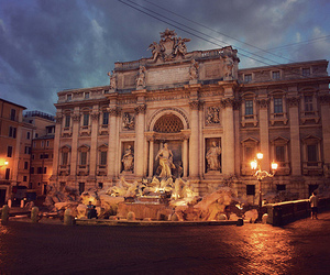 rome and trevi image