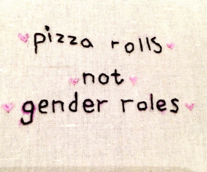 pizza, quotes, and feminism image