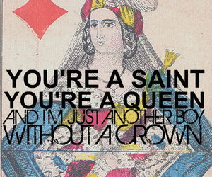 all time low, crown, and Lyrics image