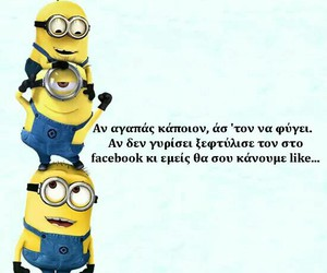 funny, minion, and quotes image