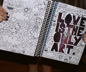 art, love, and only image
