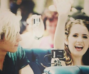 ross lynch, auslly, and raura image