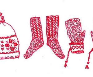 gloves, mittens, and socks image