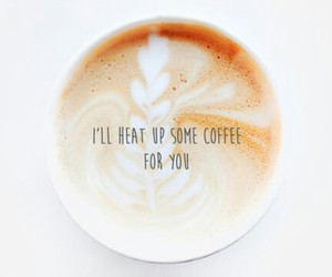 quote, coffee, and wallpaper image