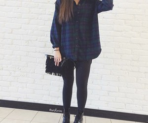 outfit, style, and leggings image