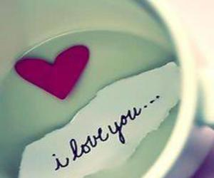 cool, cup, and I Love You image