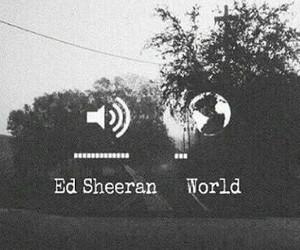 music, ed sheeran, and world image