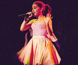 ariana grande, red hair, and singer image