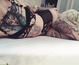 beauty, body, and Tattoos image
