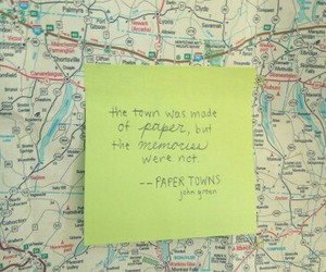 book, towns, and john green image