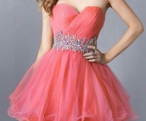 accessories, dress, and pink image