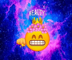 beauty and emoji image
